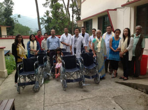 Giving The Gift of Mobility Anandaban Hospital