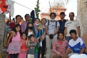 Foundation Team with people of Phutung